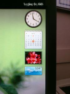 Phone Shot of Desk Screen