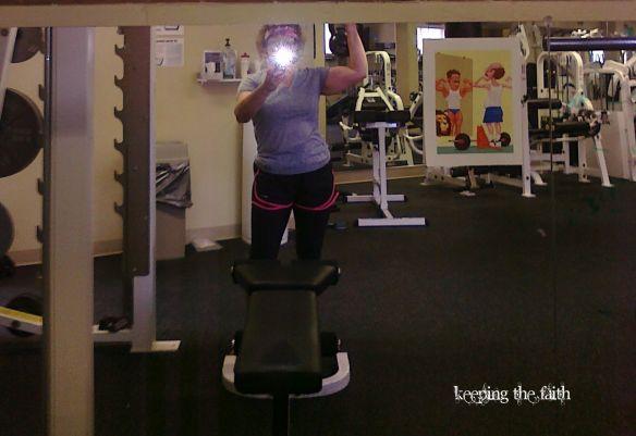 Angela Pea's Arm Muscles