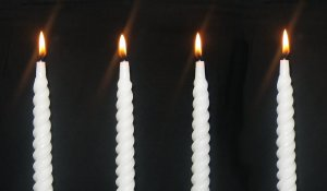 2012.11.30 white candles