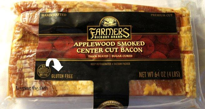 Bacon - It's Gluten Free!