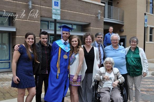 Kevin Graduation