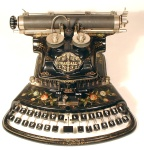 The Crandall Typewriter, from the Martin-Howard Collection